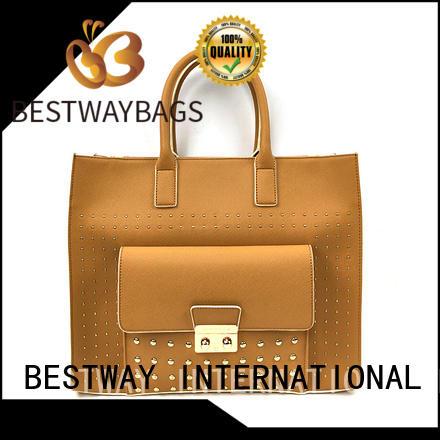Bestway soft pu purse supplier for girl