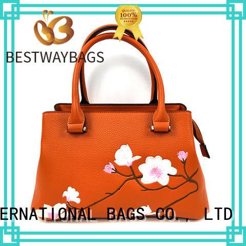 Bestway elegant pu bag for sale for ladies