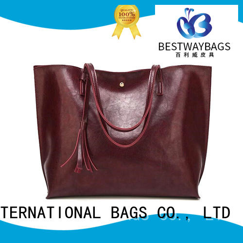 Bestway bags pu leather bag supplier for women