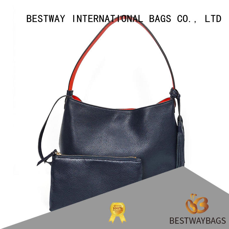 Bestway leather mens leather purses bags manufacturer for work