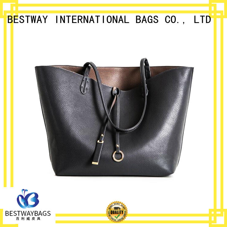 Bestway trendy leather bag manufacturer for date