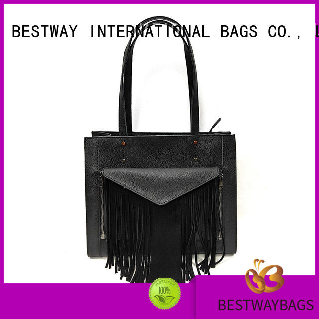 stylish pure leather bags customized wildly for work