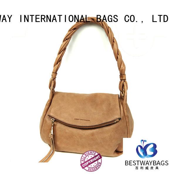 Bestway embroidery pu sling bags supplier for lady