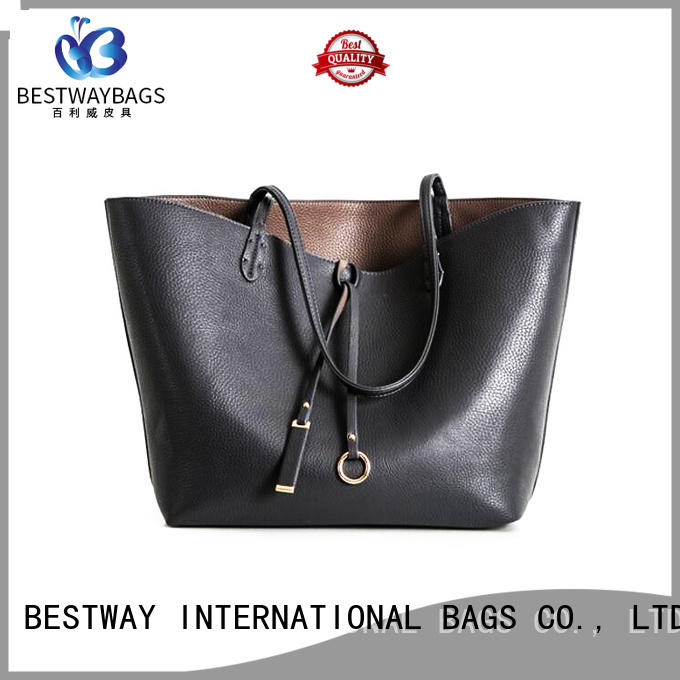 Bestway side leather handbags handbags for school