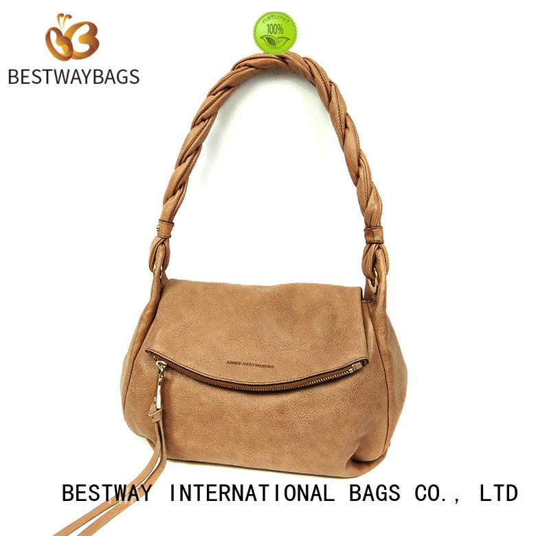 Bestway fashion pu leather purse on for girl