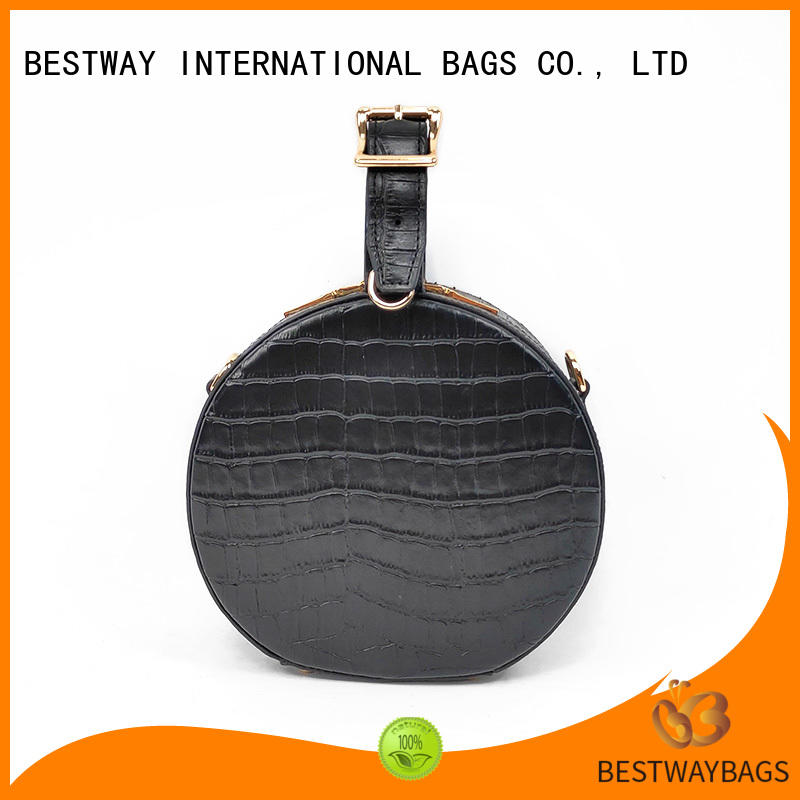 Bestway side leather backpack purse hand
