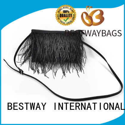 Bestway leather pu leather description Chinese for lady