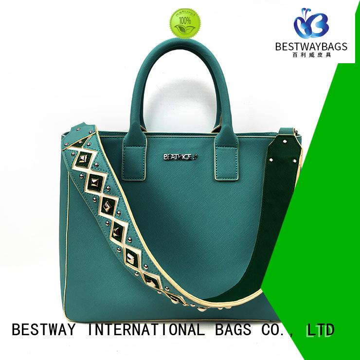 Bestway handbag good leather bags supplier for women