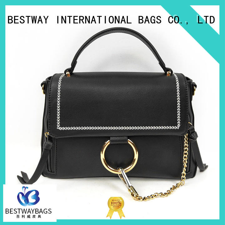 boutique pu leather sling bag supplier for ladies