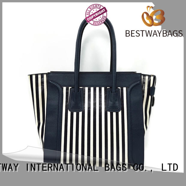 Bestway large custom canvas bags personalized for travel