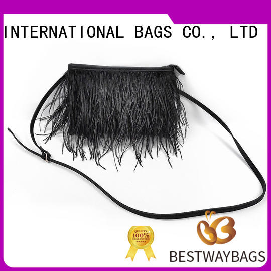 Bestway green pu leather bag Chinese for lady