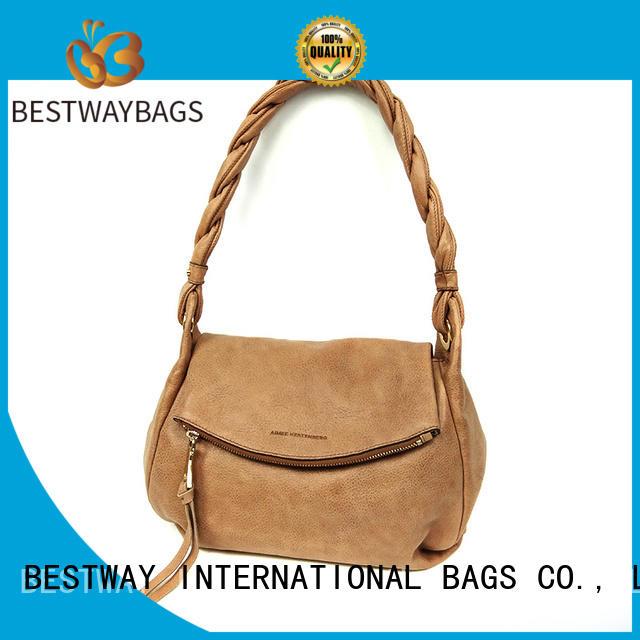 Bestway elegant pu leather bag supplier for girl