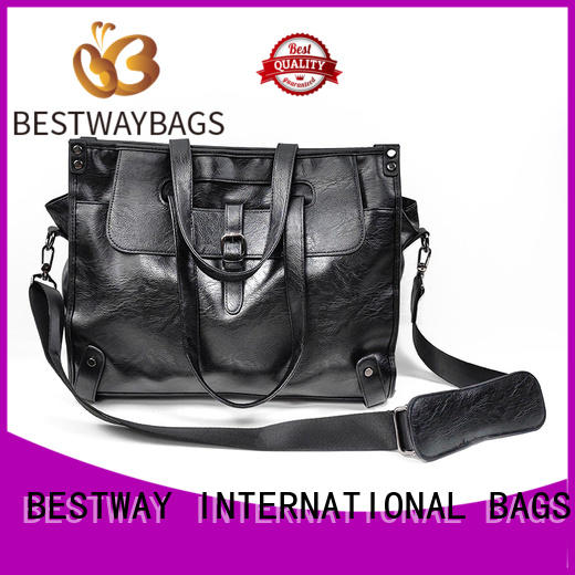 metal pu bag supplier for lady
