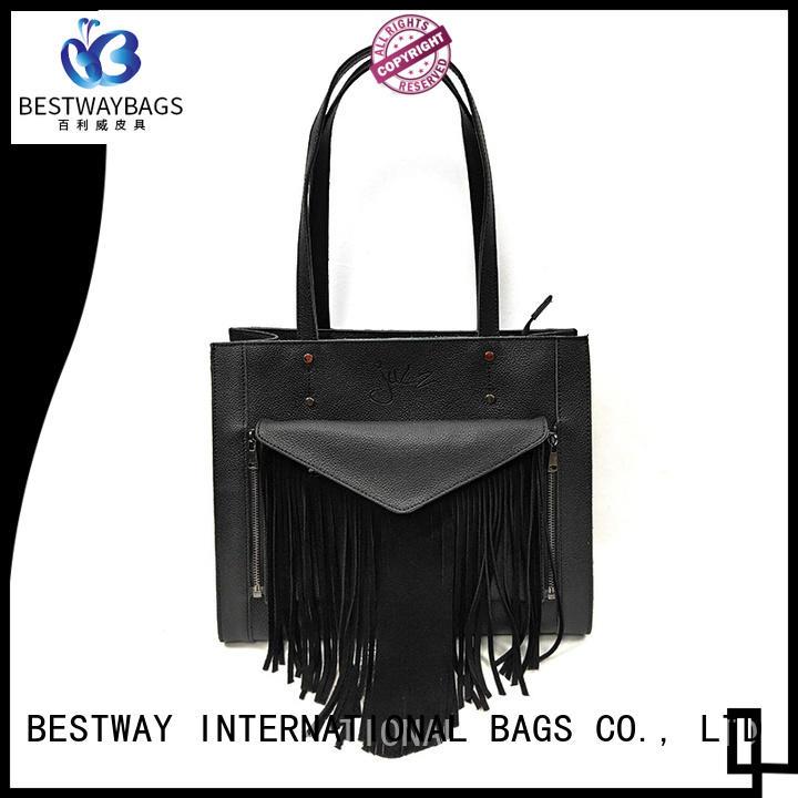 Bestway womens ladies pocketbooks manufacturer for work