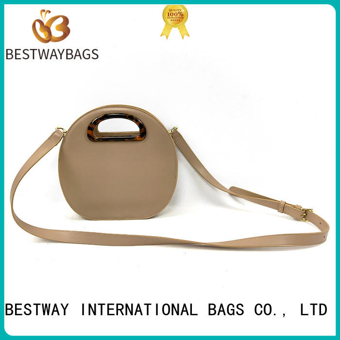 Bestway boutique polyurethane material bags green for women