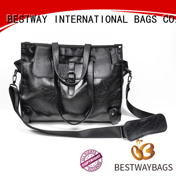 Bestway simple high quality pu leather Chinese for girl