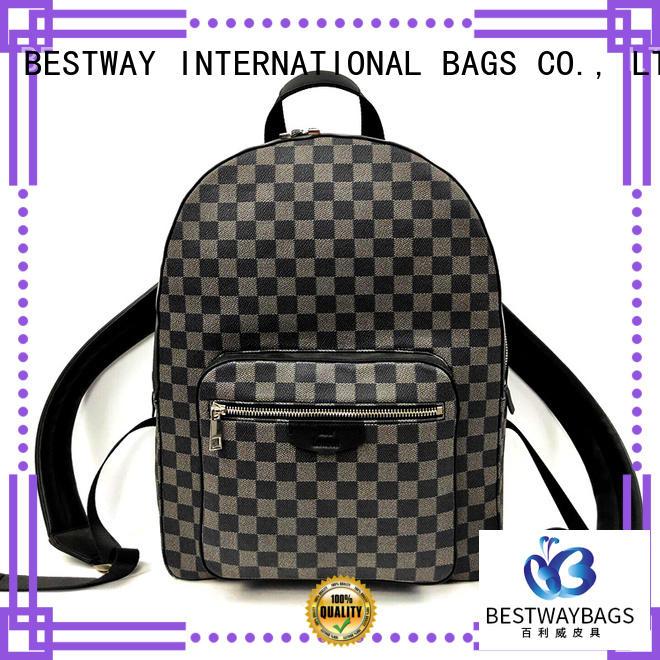 Bestway stylish leather bag manufacturer