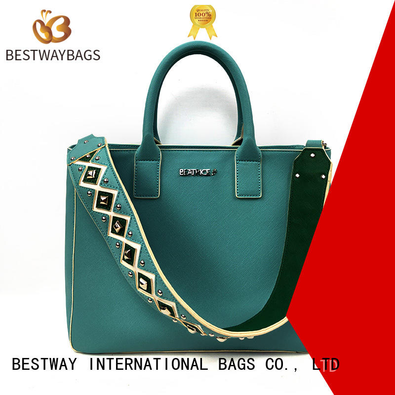 Bestway boutique polyurethane bag supplier for girl