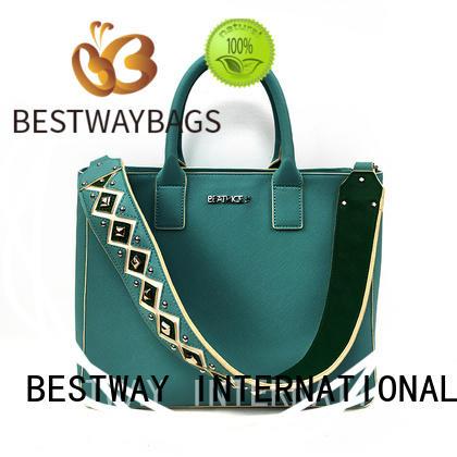 Bestway girls polyurethane bag supplier for lady