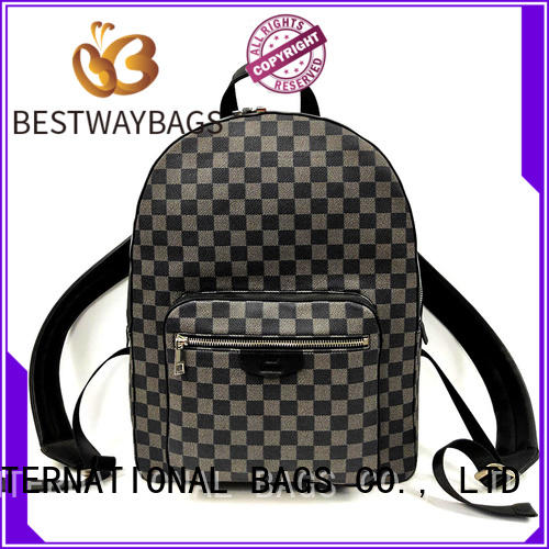 Bestway customized leather handbags manufacturer for date