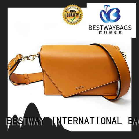 Bestway fashion polyurethane bag for sale for ladies