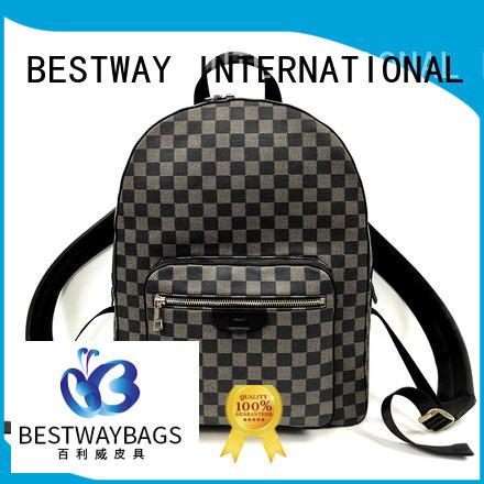 Bestway side leather handbags online