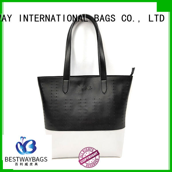 Bestway embroidery pu leather purse for sale for lady