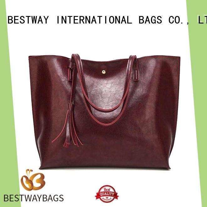 boutique polyurethane bag label Chinese for lady