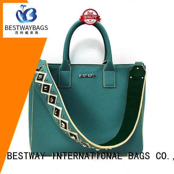 Bestway fashion high quality pu leather Chinese for lady