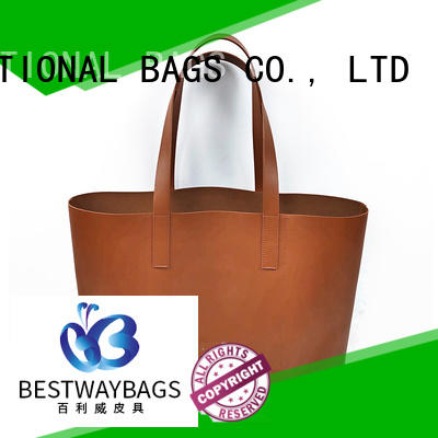 matching durable leather bags for sale for lady Bestway