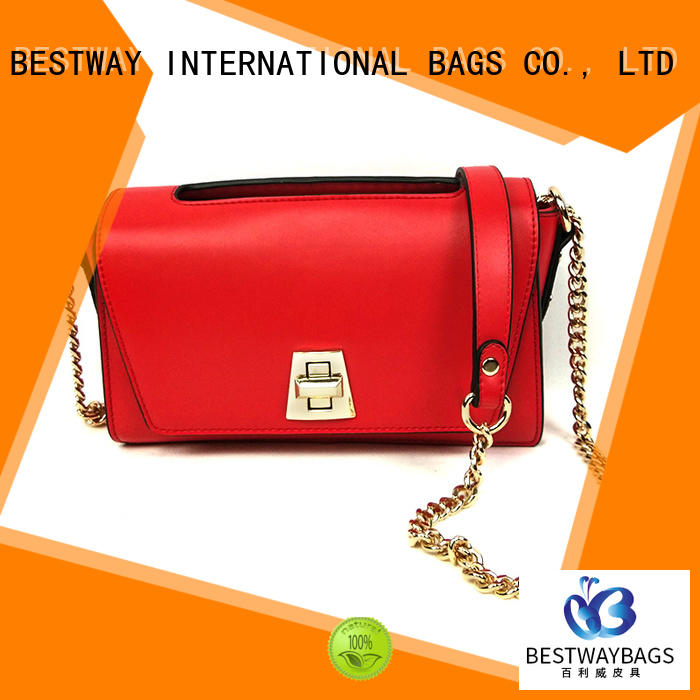 Bestway female pu leather bag Chinese for women