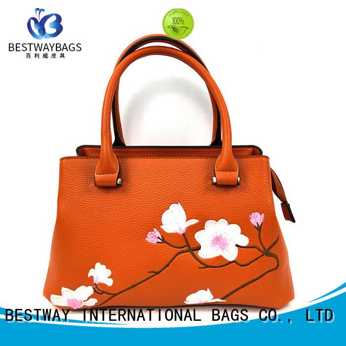 Bestway fashion pu shopper bag fashion for ladies