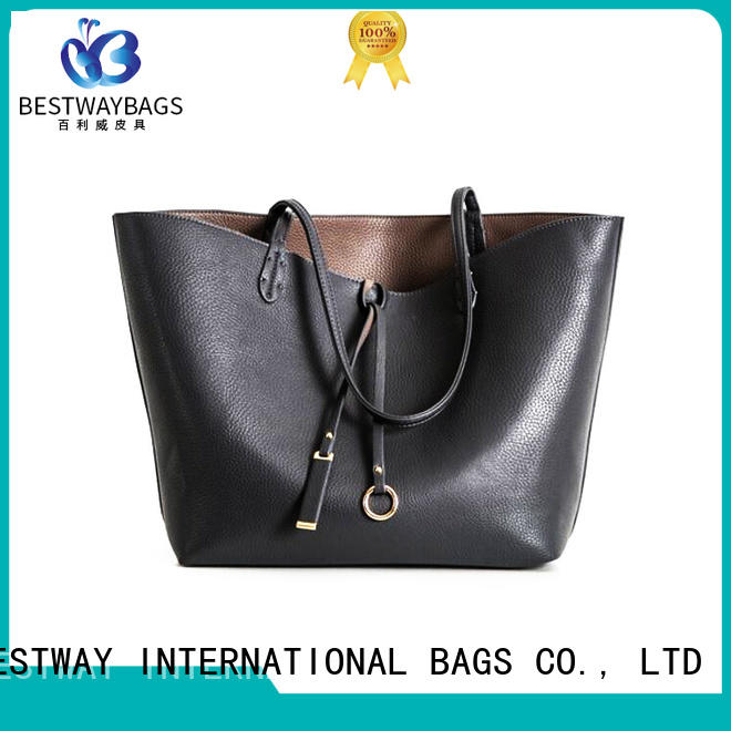 stylish leather bagtote on sale for work