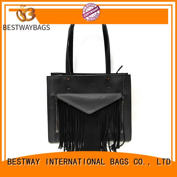 Bestway brand leather handbags on sale for school