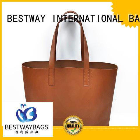 Bestway black pu leather bag online for lady