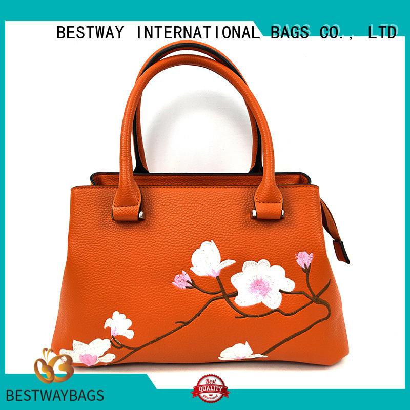 Bestway generous pu tote bag Chinese for ladies