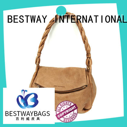 Bestway fashion pu leather sling bag for sale for lady