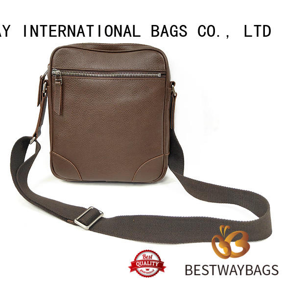 Bestway womens leather bag manufacturer for school