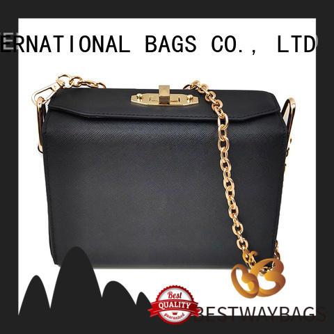 Bestway fashion polyurethane handbag office for women