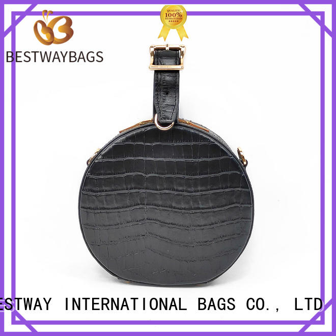 Bestway side leather bag personalized for school