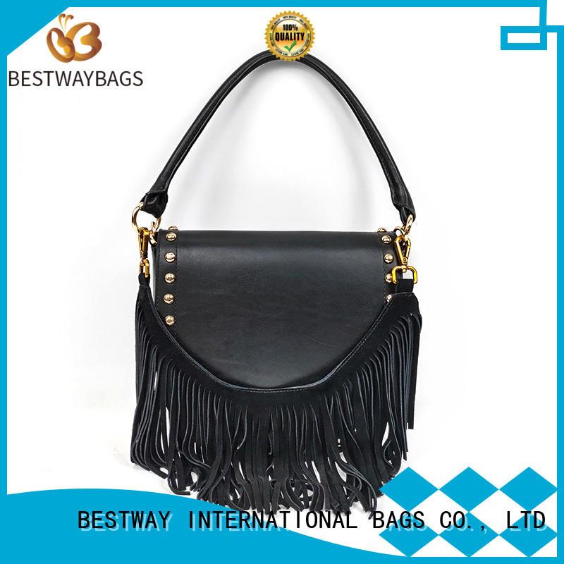 Bestway simple leather shoulder bag online for date