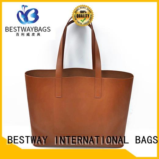 Bestway messenger pu bag supplier for ladies