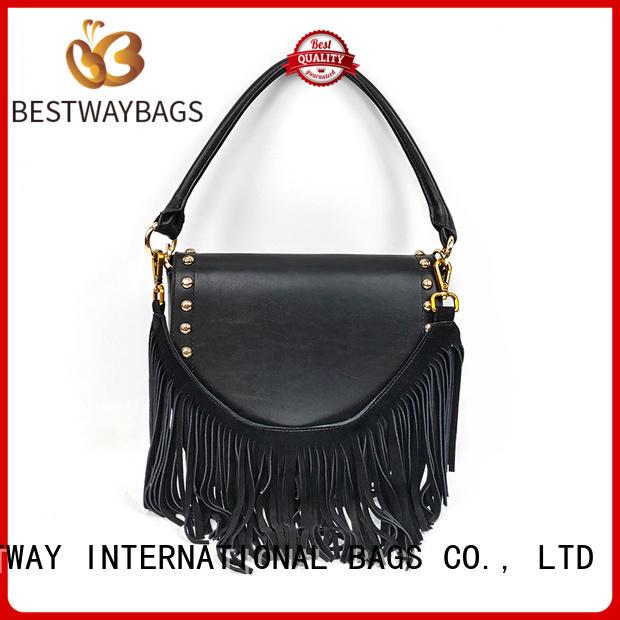 designer leather bag sling wildly