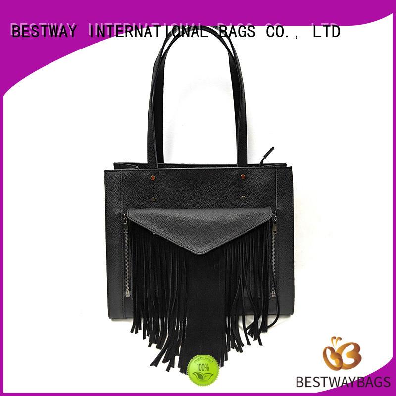Bestway wallets leather bag on sale for school