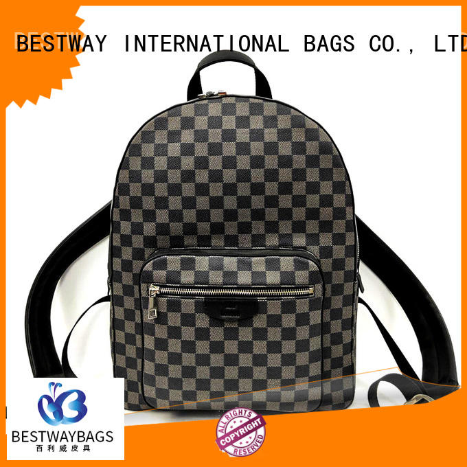Bestway side leather handbags wildly for daily life