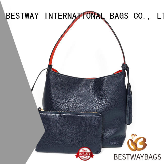 side ladies leather bags online shopping bag manufacturer for daily life