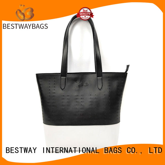 Bestway elegant pu leather tote supplier for women
