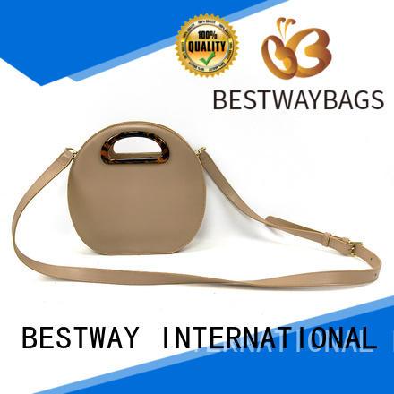 Bestway elegant pu leather bag for sale for girl