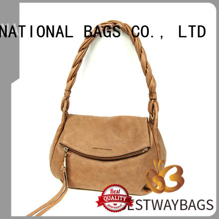 wide pu bag supplier for lady