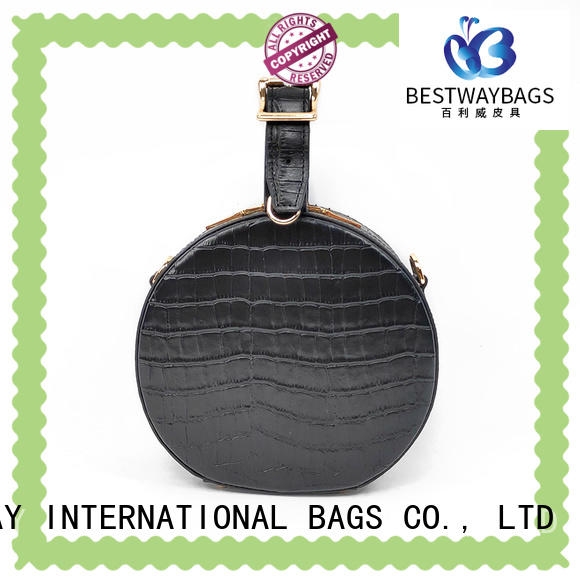 Bestway side leather handbags fashion for school